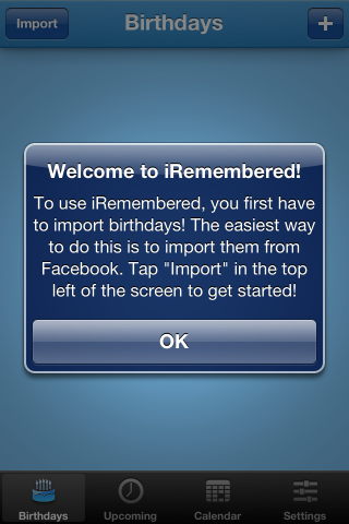 iRemembered Helps You Make Sure You Never Miss A Birthday Again [iOS, Free For A Limited Time] 2012 12 05 08
