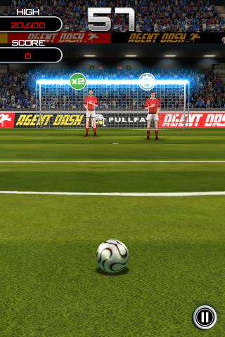 flick soccer iphone