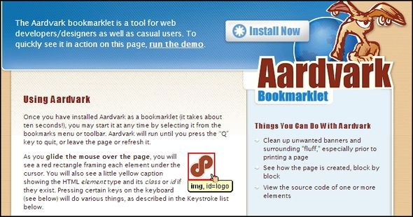Top Tips & Tools to Help With Printing Webpages Aardvark webpage