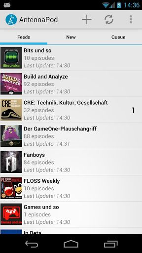 AntennaPod   AntennaPod: A Podcast Manager To Stream & Download Podcasts [Android 2.3.3+]