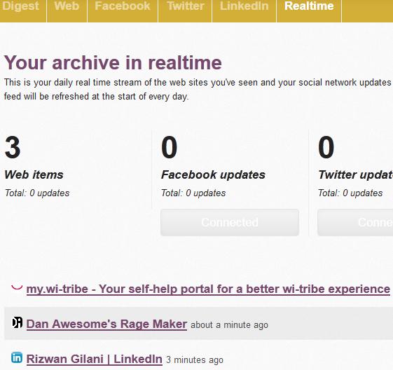 archive activity