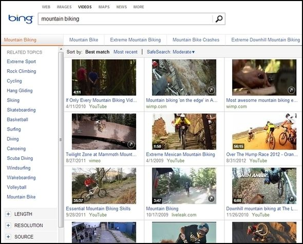 Greater Than Google: The Best Bits Of Bing Bing Video1