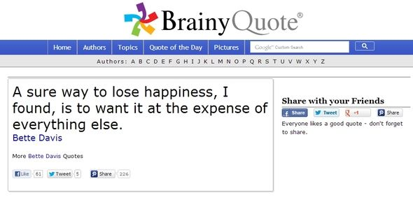 Feeling Down? Find Some Encouragement On The Internet's Friendliest Websites BrainyQuote