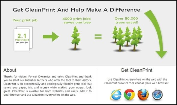 Top Tips & Tools to Help With Printing Webpages CleanPrint Page