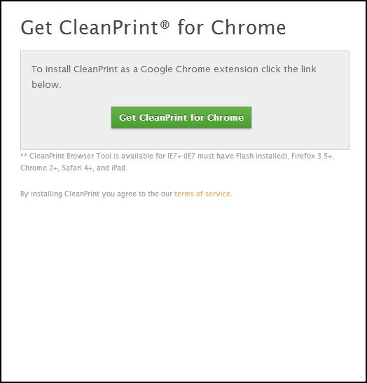 Top Tips & Tools to Help With Printing Webpages CleanPrint no bookmarklet