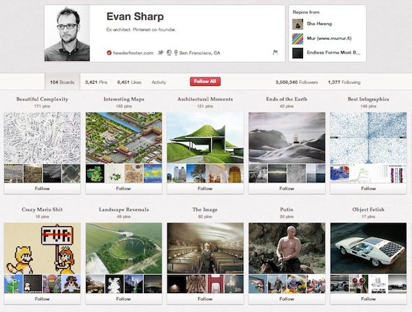 pinterest users to follow