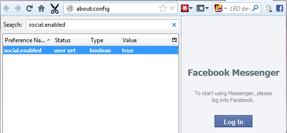 facebook browser support