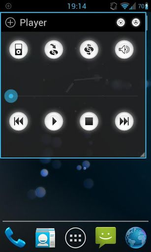 floating audio player