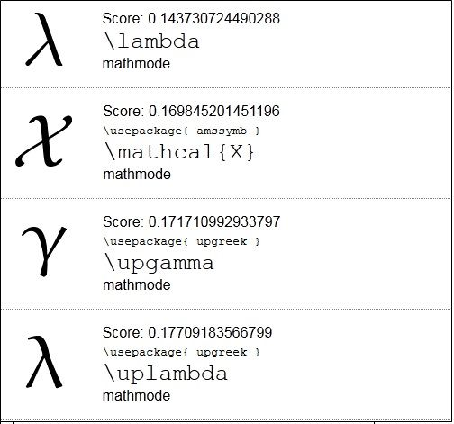Mathmode   Detexify: Find The Codes For Symbols To Use in LaTeX