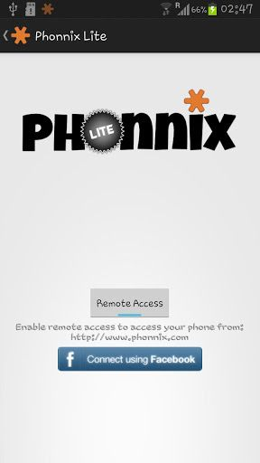 Phonnix   Phonnix: Control Your Phone Through Your Computers Web Browser [Android 4.0+]
