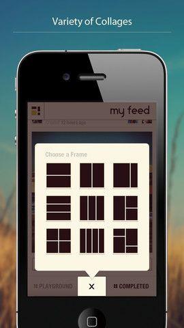 Pixplit   Pixplit: Create Social Photo Collages Using Pictures Of Yourself & Friends [iOS]