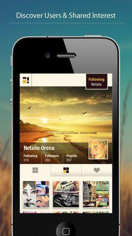 Pixplit1   Pixplit: Create Social Photo Collages Using Pictures Of Yourself & Friends [iOS]
