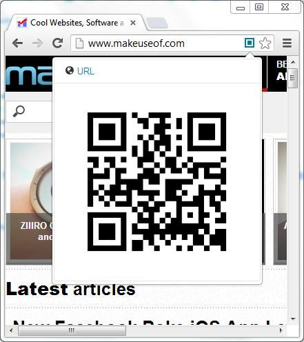 Smart QrCode Generator   Smart QrCode Generator: Generate QR codes for URLs and images in Google Chrome