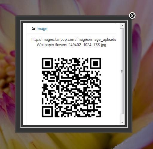 Smart QrCode Generator1   Smart QrCode Generator: Generate QR codes for URLs and images in Google Chrome