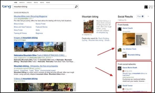 Greater Than Google: The Best Bits Of Bing Social Search1