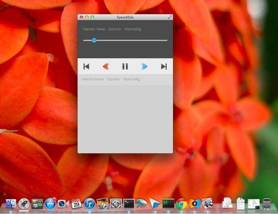change speed of audio