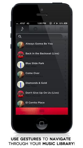 Toones Music Player   Toones Music Player: A User Friendly App To Easily Play Music On Your iOS Device
