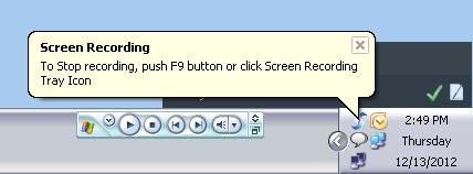 VidShot Capturer 2   VidShot Capturer: Record AVI Screencasts Of Desktop, Specific Region, Or Entire App Windows