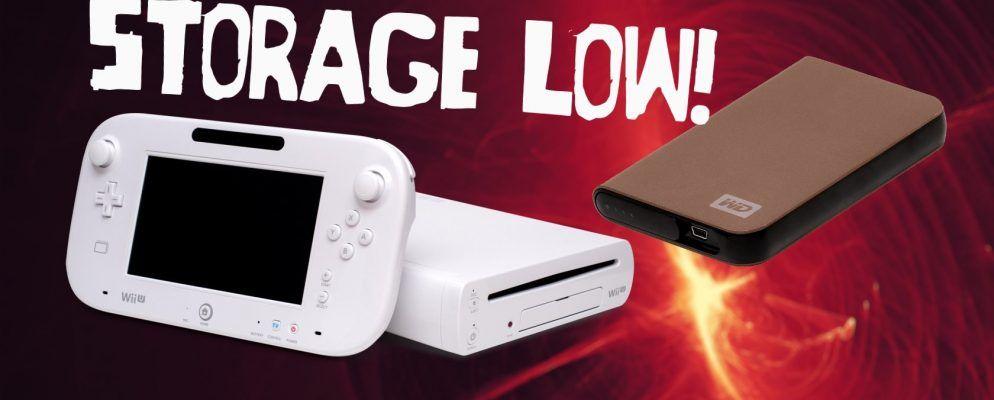 External Hard Drive Expansion 2TB Portable USB 3.0 Games Wii U Storage Upgrade