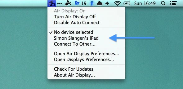 air display mac