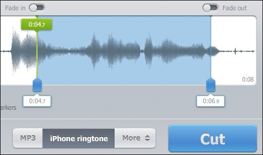 audio   MP3cut Online Audio Cutter: Trim MP3 Audio Online To Convert To An iPhone Ringtone