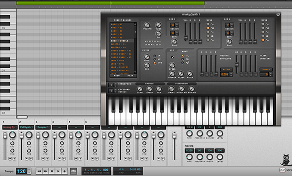 virtual synthesizers software