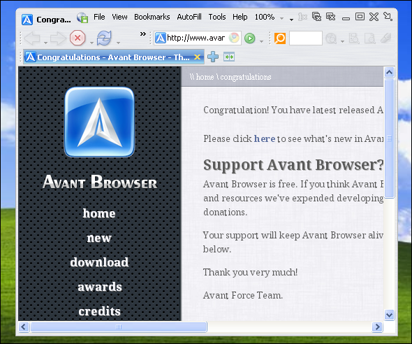 browser alternatives for windows