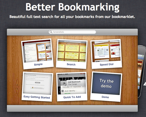 bookmarksio 2   Bookmarks.io: Fast Syncing & Searching of Bookmarks ( 50 Free Coupon Codes)