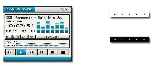 The Tiny CoolPlayer Could Be The MP3 Player Of Choice For Your Portable Drive [Windows] coolplayer02