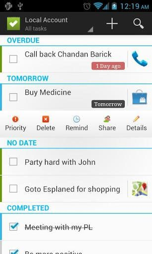 tasks to do android