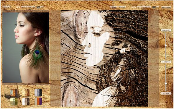 elementoez1   Elemento EZ for Mac: Transform Pictures With Wood, Metal and Fabric Effects