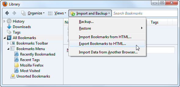 manage lots bookmarks