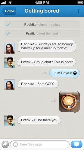 hike messenger   Hike Messenger: Send Free Internet Messages & SMS [iOS]