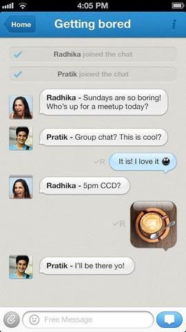 hike messenger   Hike Messenger: Send Free Internet Messages & SMS [iOS]