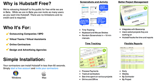 hubstaff1   Hubstaff: Virtual Management For Managers & Contractors