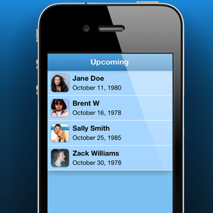 iRemembered Helps You Make Sure You Never Miss A Birthday Again [iOS, Free For A Limited Time]