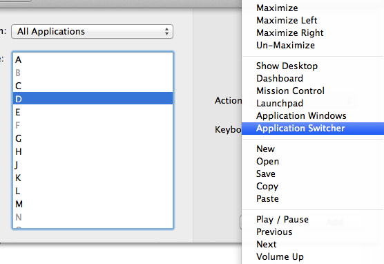 add more gestures to magic mouse