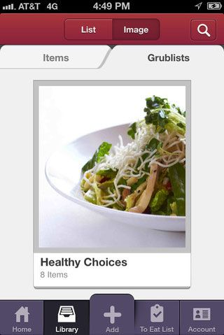 iphone app to decide where to eat