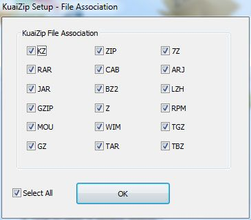 kuaizip1   KuaiZip: Compress Files To a Smaller Archive Using The KZ Archive Format