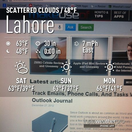 lahore   InstaWeather Free: Personalize Your Pictures By Including The Weather Details In Them