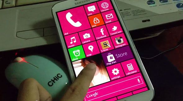 make android windows phone