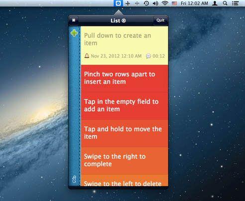 list management for mac