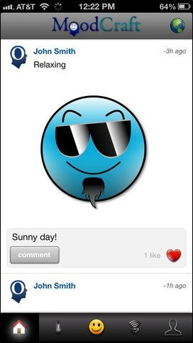 mood   CogniFit MoodCraft: Create Your Own Emoticons To Let Friends Know What You Are Feeling [iOS]