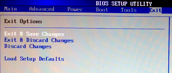 change pc boot order