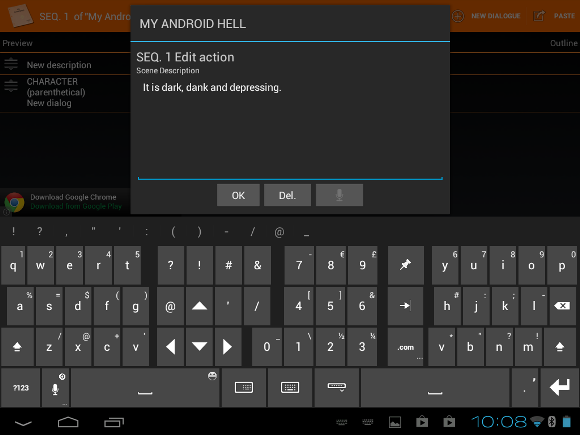 android word processor