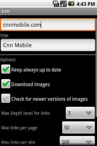 offline browser   Offline Browser: Save Webpages To Your Smartphone For Offline Reading [Android 2.1+]