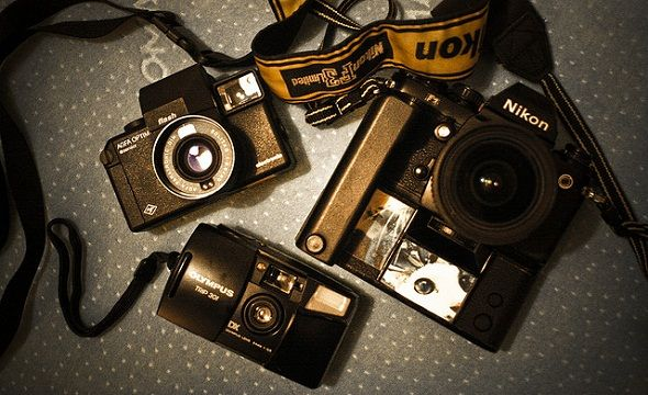 Why You Should Never Delete Dodgy Digital Photos [Opinion] old camera collection