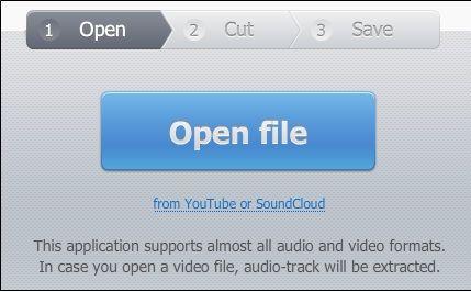 open   MP3cut Online Audio Cutter: Trim MP3 Audio Online To Convert To An iPhone Ringtone