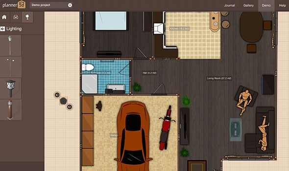 planner 5d: create your perfect home design in your browser then