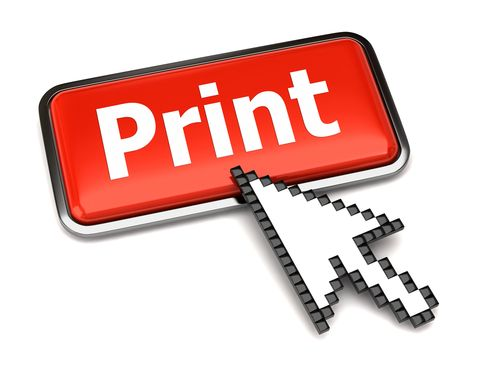 Top Tips & Tools to Help With Printing Webpages publisher print button